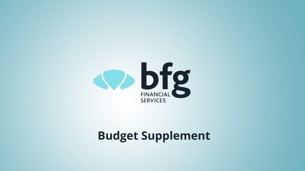 Budget Supplement